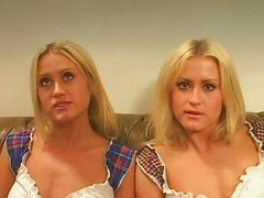 Twins, Threesome, Xhamster