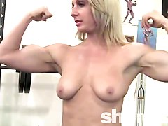 Blonde, Gym, Xhamster