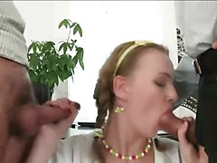 Double Anal, Office, Xhamster