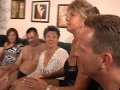 Granny, Orgy, Party, Xhamster