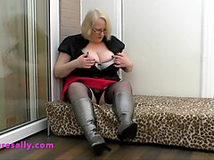 Boots, Black, Stockings, Xhamster