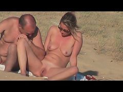 French, Couple, Beach, Xhamster