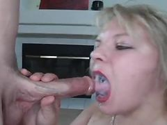 Blonde, Swallow, Xhamster