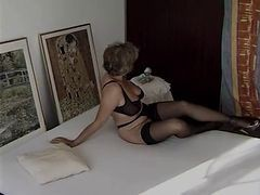 Granny, Black, Stockings, Xhamster